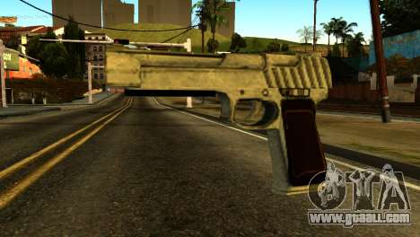 Desert Eagle from GTA 5 for GTA San Andreas