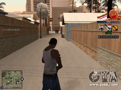 C-HUD Cookie for GTA San Andreas sixth screenshot