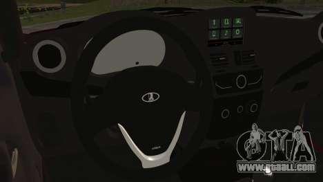 Lada Kalina R2 for GTA San Andreas right view