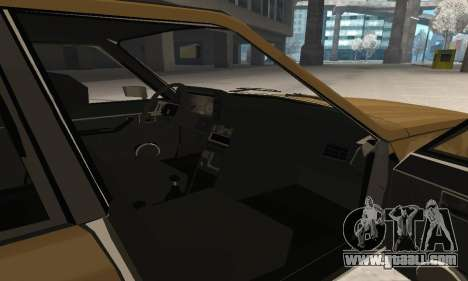 Renault 18 for GTA San Andreas interior