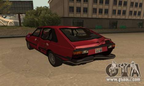FSO Polonez 1500 for GTA San Andreas wheels