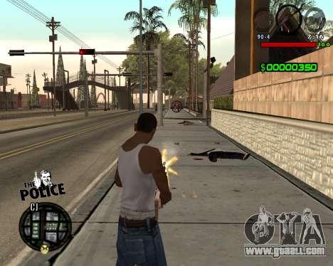 C-HUD by Jim for GTA San Andreas