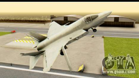 F-35B Lightning II Hatsune Miku Version for GTA San Andreas right view