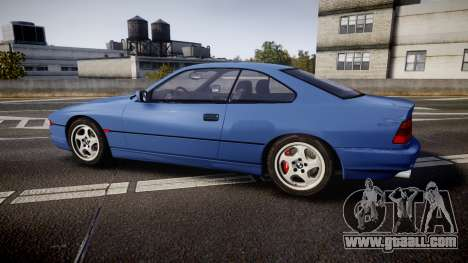 BMW E31 850CSi 1995 [EPM] for GTA 4 left view