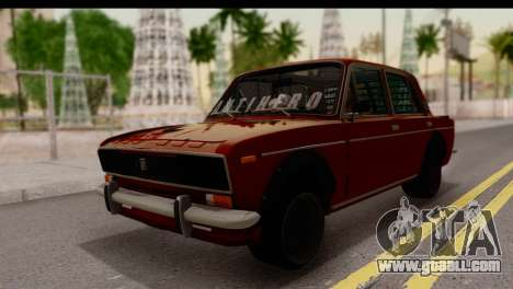 VAZ 2106 BQ for GTA San Andreas