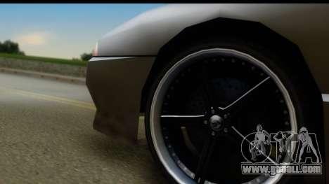 New Elegy Editons for GTA San Andreas back view