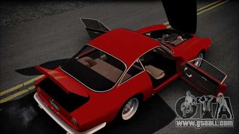 Ferrari 250 GT Berlinetta Lusso 1963 [ImVehFt] for GTA San Andreas inner view