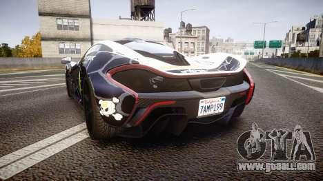 McLaren P1 2014 [EPM] Ken Block for GTA 4 back left view