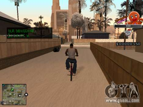 C-HUD Cookie for GTA San Andreas fifth screenshot