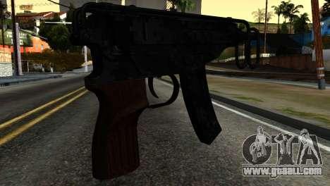 New Tec9 for GTA San Andreas second screenshot
