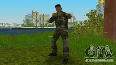 Original VC Camo Skin for GTA Vice City second screenshot