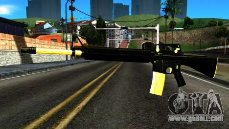 New M4 for GTA San Andreas