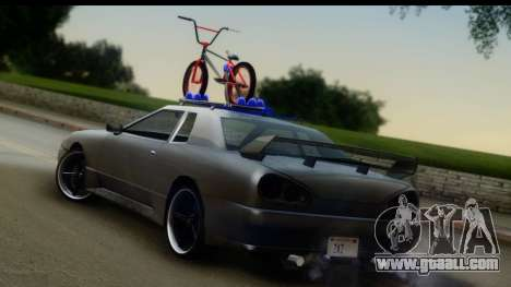 New Elegy Editons for GTA San Andreas left view