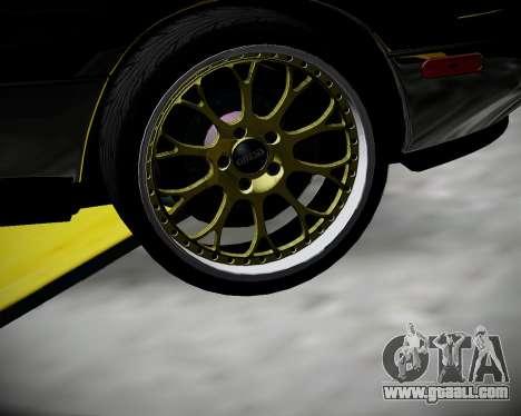 Mazda MX-5 JDM for GTA San Andreas back view