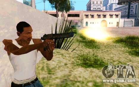 Desert Eagle (Dodgers) for GTA San Andreas second screenshot