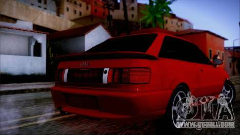 Audi RS2 Coupe for GTA San Andreas left view