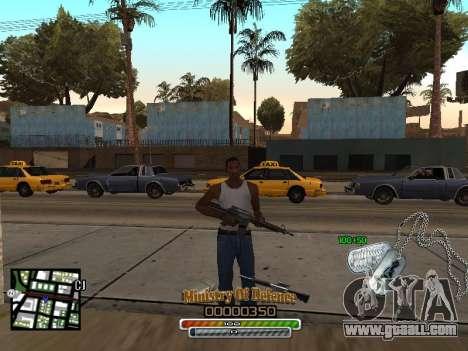 C-HUD для Army for GTA San Andreas second screenshot