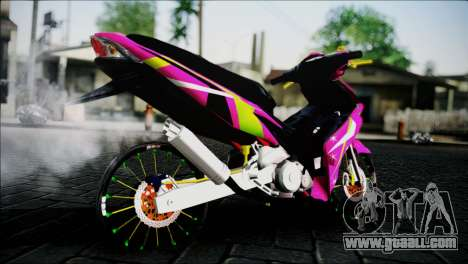 Jupiter Mx for GTA San Andreas left view