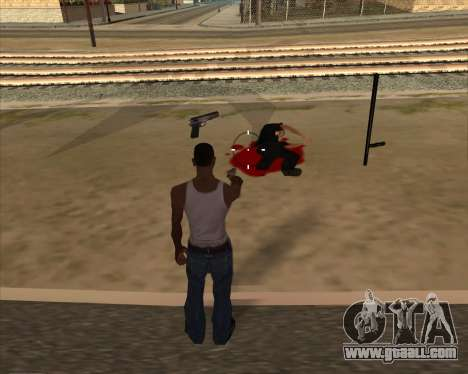 Settings Ragdoll for GTA San Andreas