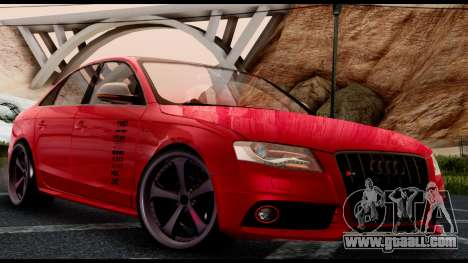 Audi S4 2010 Blacktop for GTA San Andreas