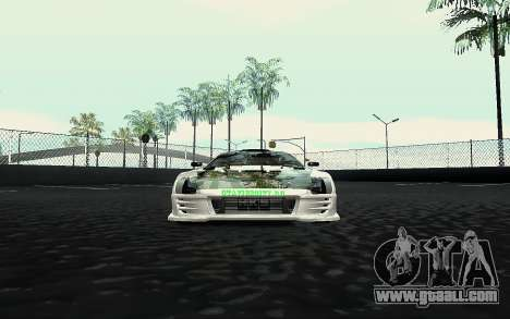 Toyota Supra VCDT for GTA San Andreas right view