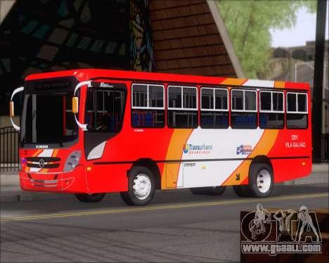 Caio Foz Super I 2006 Transurbane Guarulhoz 2201 for GTA San Andreas left view
