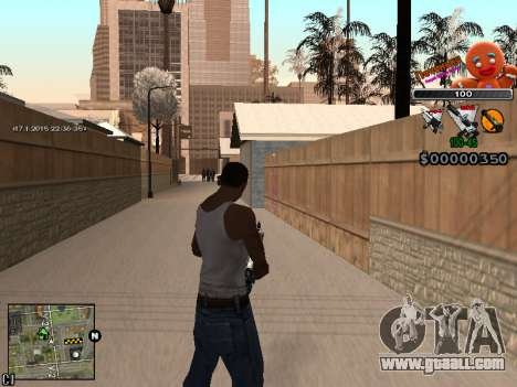 C-HUD Cookie for GTA San Andreas