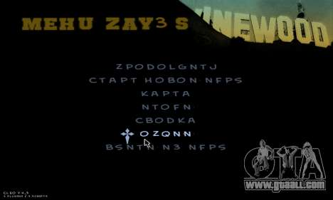 C-HUD Army for GTA San Andreas eighth screenshot