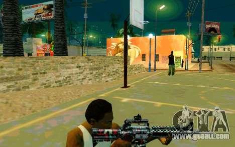 M4A1 (Looney) for GTA San Andreas third screenshot