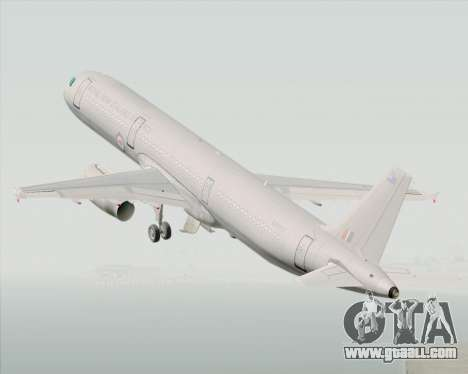 Airbus A321-200 Royal New Zealand Air Force for GTA San Andreas inner view