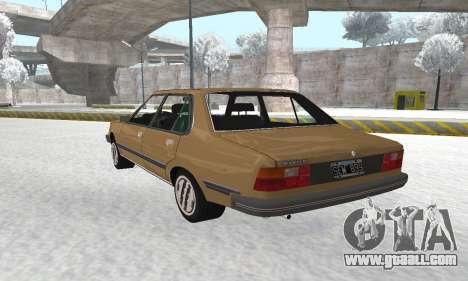 Renault 18 for GTA San Andreas inner view