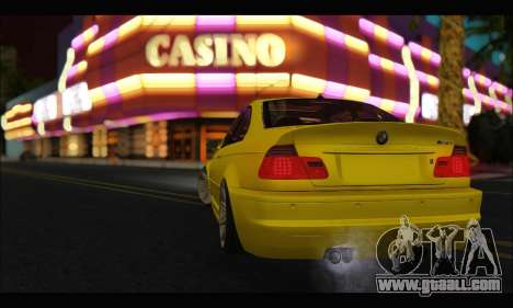 BMW M3 Coupe Tuned for GTA San Andreas right view