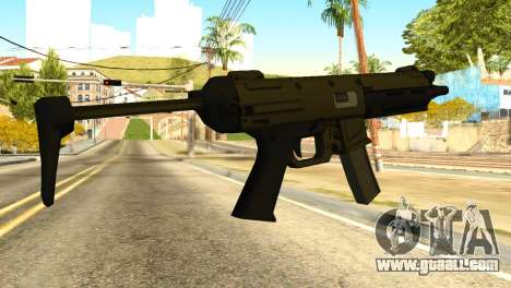 MP5 from GTA 5 for GTA San Andreas
