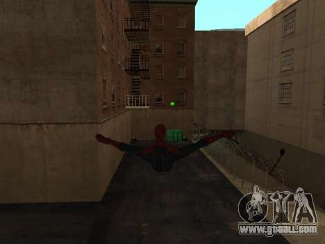 Spiderman Swinging v2.1 for GTA San Andreas second screenshot