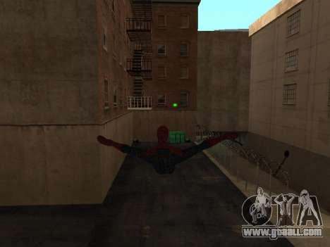 Spiderman Swinging v2.1 for GTA San Andreas second screenshot