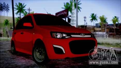Lada Kalina R2 for GTA San Andreas