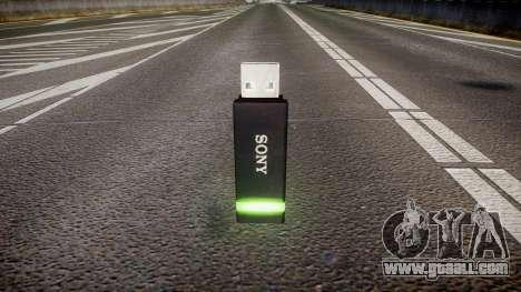 USB flash drive Sony green for GTA 4 second screenshot