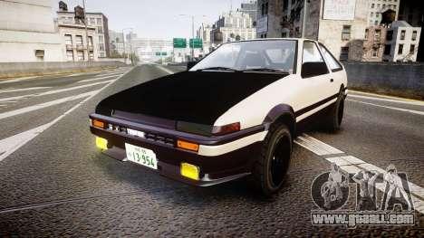 Toyota AE86 Tofu for GTA 4