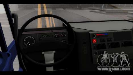 Iveco Eurotech (No Snow) for GTA San Andreas back view