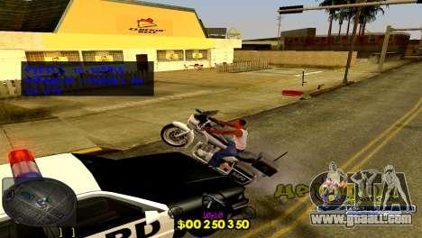 C-HUD Barcelona for GTA San Andreas third screenshot