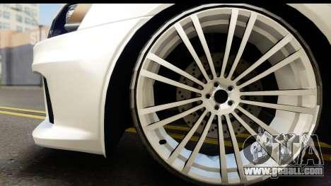 Mitsubishi Lancer X RE-Racing Edition for GTA San Andreas right view