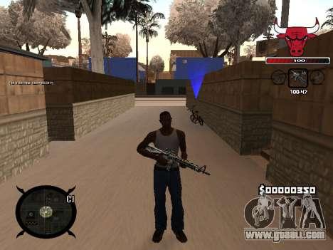 C-HUD Angry for GTA San Andreas