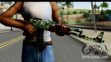 Grafiti AK47 for GTA San Andreas