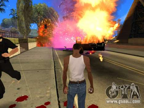 Fagot Funny Effects 1.1 for GTA San Andreas seventh screenshot