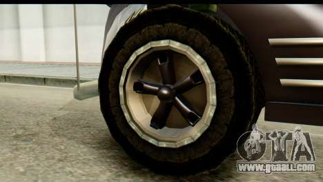Chevrolet C.O.E. Semimula for GTA San Andreas back left view