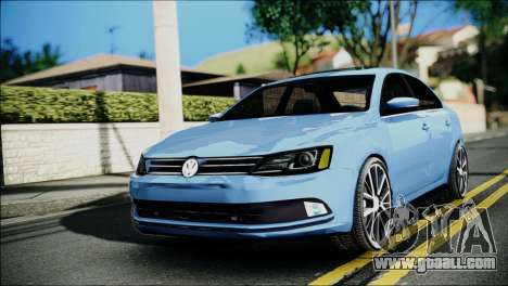 Volkswagen Jetta 2015 for GTA San Andreas