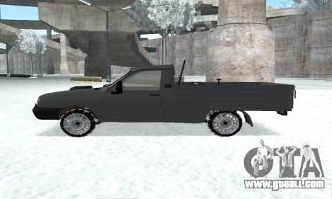 Dacia 1305 Papuc Pick-Up Drop Side 1.9D for GTA San Andreas right view
