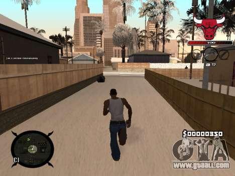 C-HUD Angry for GTA San Andreas third screenshot
