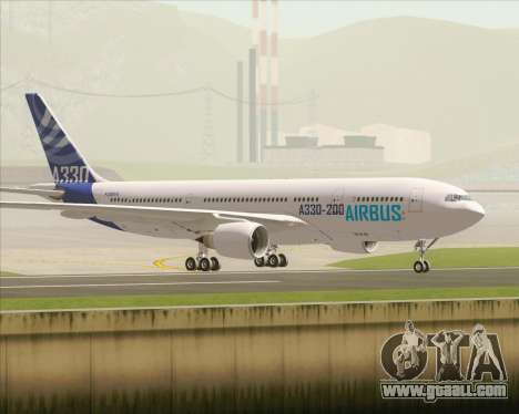 Airbus A330-200 Airbus S A S Livery for GTA San Andreas inner view