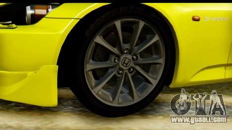 Honda S2000 for GTA San Andreas